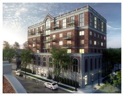 TAWANI Enterprises today announced the start of the first phase of construction for an eight-floor apartment building located at 1323 W. Morse Avenue in Chicago's Rogers Park neighborhood.