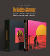 """Brown had released a new book, The Endless Summer 50th Anniversary Book and Box Set that documents his travels while filming the movie """"The Endless Summer."""""""