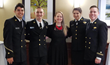 Crowley Awards Scholarships to Four USMMA Cadets During 2017 Awards Luncheon