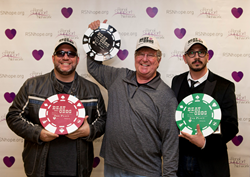 Celebrity texas poker - Harvey Wells - Dean Ronalds - Jimmy Delle Valle