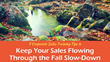 7 Corporate Sales Training Tips to Keep Sales Flowing Through the Fall Slow-Down: Sales Training World Presents a New Set of Strategies to Drive Sales and Prep for 2018