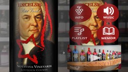 Mesh Omnimedia develops augmented reality wine labels for virginia farm winery Notaviva Vineyards