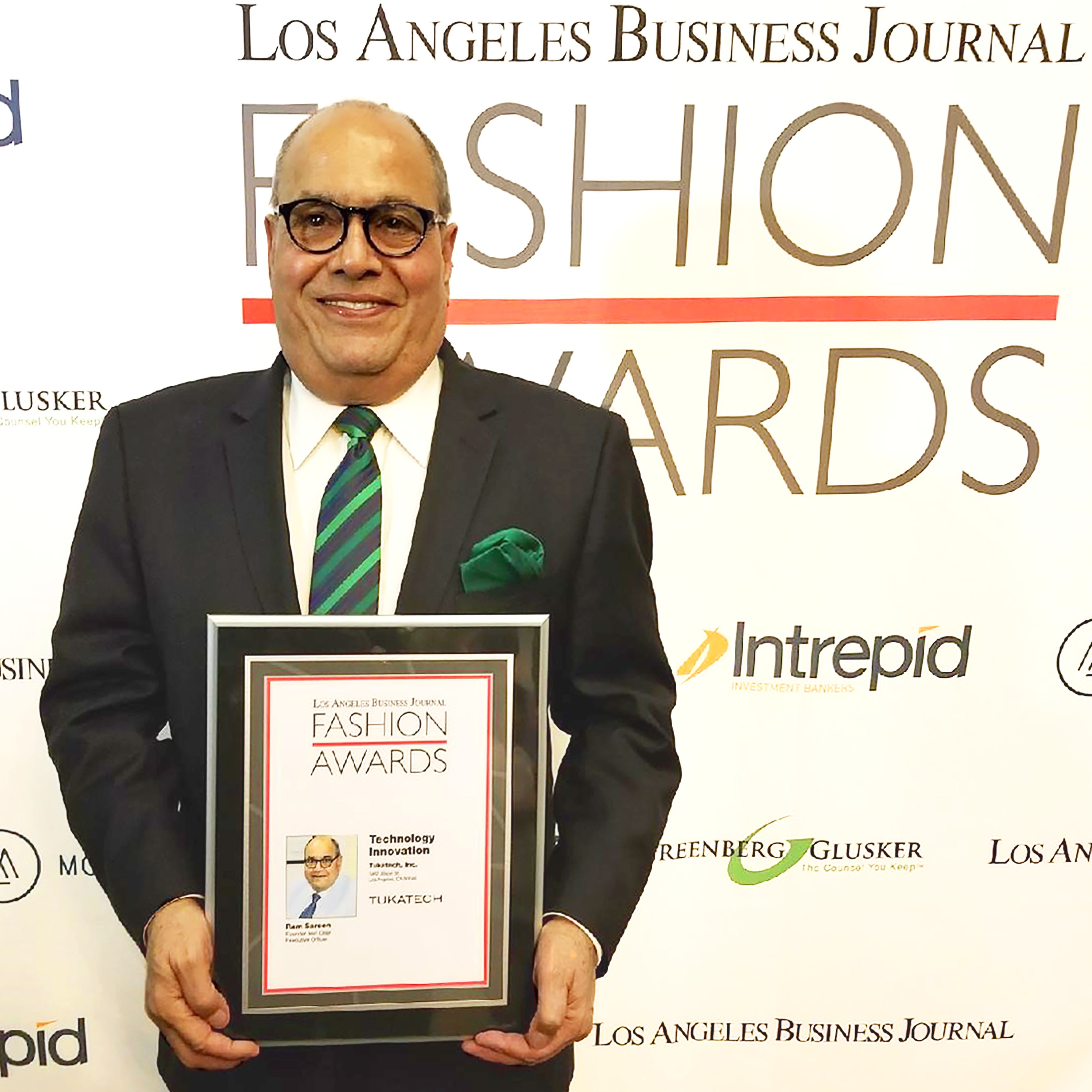 Los Angeles Business Journal Honors Tukatech With The 2017