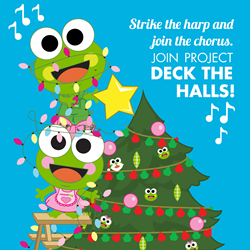 sweetFrog Deck the Halls 2017