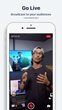 Broadcast directly from the new Brandlive mobile app