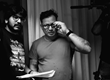 "Kartik Garimella, Director of Photography and Al  Domino, Director on set of the feature horror film called ""Ghost Written,"" which is slated for release 2018"
