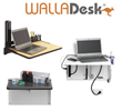 Carstens Launches Two New Wall-Mounted Desks for Medical Facilities