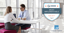 "Crelate named ""Most Implementable"" ATS in G2 Crowd 2017 Index"