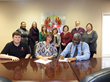PIE Contract Signing Photo
