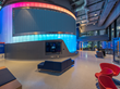 Duo-Gard's Translucent Wall Glows as Beacon at Creative Media Industries Institute