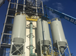 Jewell's new plant added powder silos to finish off the facility.