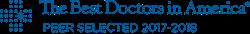 Best Doctor Award, 2017-2018, Dr. John R. Burroughs