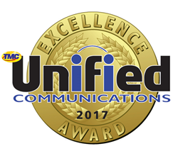 SIP Trunking Wins 2017 TMC Unified Communications Excellence Award