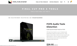 Final Cut Plugins - Pixel Film Studios - FCPX Audio Tools Distortion