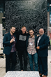 Aaron Berman, Timothy Goodman, Daniel Berman and Gary Berman at BDNY 2017.
