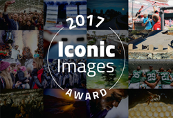 The 2017 Libris Iconic Images include photos from the sidelines of the NFL, a space food lab in Idaho, and the flooded streets of San Juan, Puerto Rico.