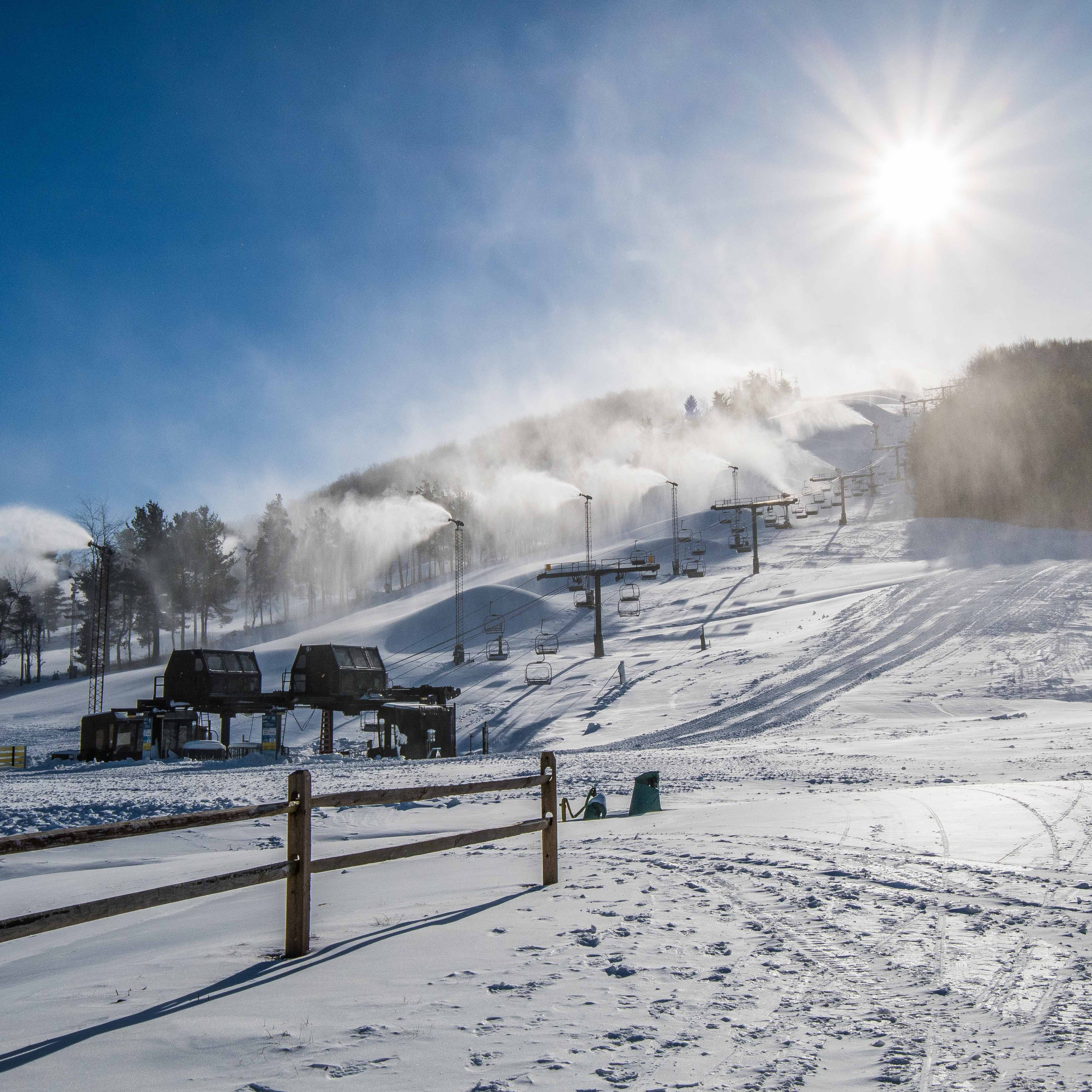 Ski Season Begins At Deep Creek Lake, Maryland