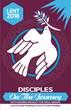 """Disciples on the Journey"", a Lenten lectionary-based bi-lingual book, has insightful commentaries, reflections, thought provoking questions, and inspiring prayers."