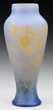 Galle Butterflies in Flight Cameo Vase, Realized $19,360.