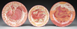 Three William de Morgan Pottery Chargers, Realized $21,780.