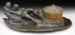Tiffany Studios Bronze Treasure Chest Inkwell, Realized $17,545.