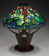 Tiffany Studios Geranium Table Lamp, Realized $84,700.
