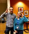 PTC's Jonathan Kersting and PTC member xTuple's Rebecca Shapiro