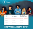 Kala Token Now Available for Public Crowdsale – Limited Supply to Sell Quickly - Here's Why
