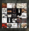 Just in time for the holidays, WRJ Design in Jackson, Wyoming, has curated a gift guide of sophisticated, modern holiday giving ideas for clients and visitors to their King Street showroom.