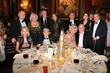 Table of Savoy Ball Patron Ms. Vivian Cardia, seated far left