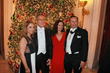Ball Vice Chairs and Grand Patrons Mrs. Florentina and Daniel McClory (left) with Mr. and Mrs. Mario Kranjac