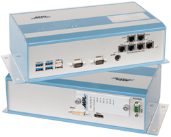 Rugged Vision Computer with Integrated PoE and UPS