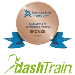 DashTrain awarded Bronze Excellence in Technology Award by Brandon Hall Group