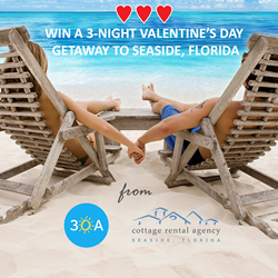 Seaside, Florida vacation giveaway