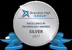 Logo for the Brandon Hall Award