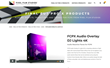 FCPX Audio Overlay DJ Lights 4K was released by Pixel Film Studios for Final Cut Pro X