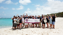 Travel Homeworkers from The Travel Franchise enjoying training in Mauritius