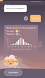 Shleep App_Sleep Duration Screen