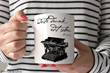 """Another Left Bank Writers Retreat gift idea, Olive & Willow ceramic mugs can be personalized with a favorite author's quote, including Hemingway's famous """"Write drunk, edit sober."""""""