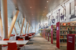 The LEED Gold-designed library and community-gathering space opened on December 9, 2017.