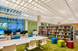 CORE designed a very open layout that incorporates clearly defined areas for children, adults and teens.
