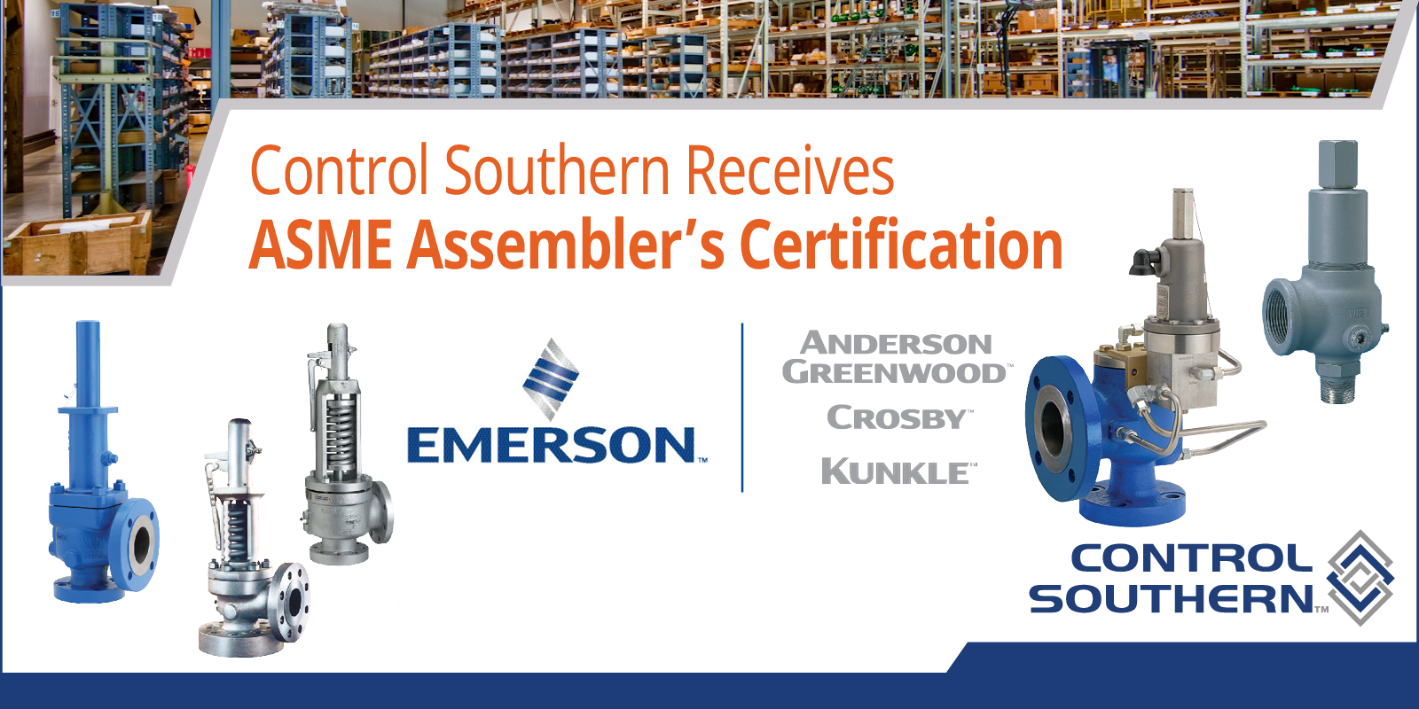 Control Southern Receives ASME Assembler's Certification for