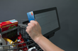 Robotic Shopping Cart payment system
