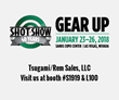 SHOT Show booth ad
