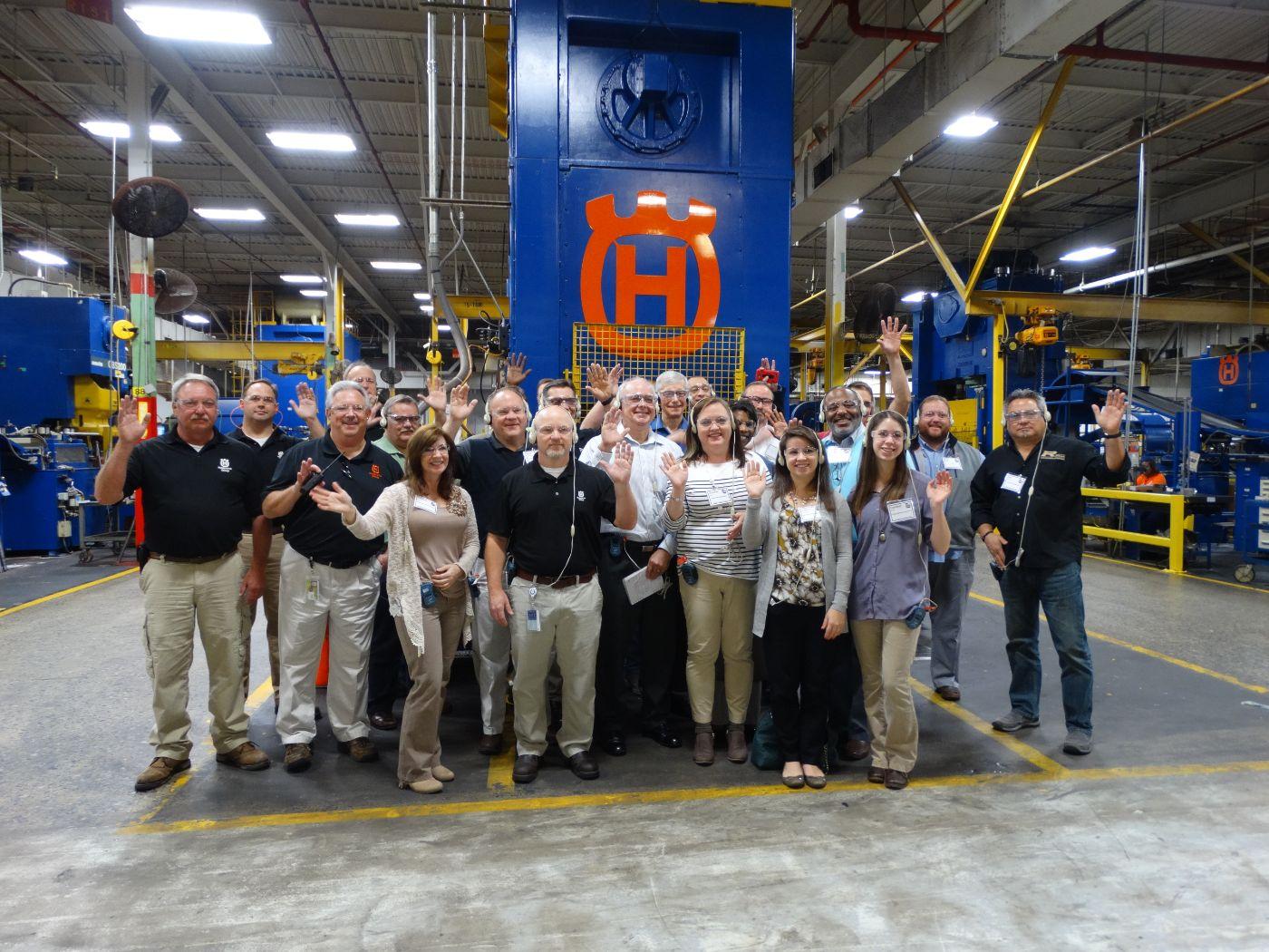 Manufacturing Plant Tour Questions