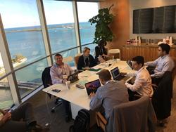Jobsity Team with Endeavor Panelists Miami