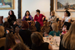 Moderator Tema Staig, and Panelists Germaine Franco, Amy Holden Jones, Nancy Schreiber, and Kira Kelly. (Photo by Ashly Covington)