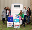 Cuties® Baby Diapers donation at Austin Diaper Bank