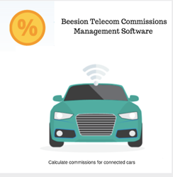 Use Beesion's Telecom Commissions Management Software to calculate commissions for IoT services