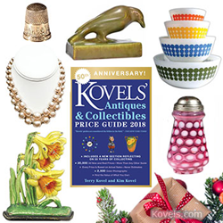 kovels, prices, antiques, collectibles, gift suggestions, christmas